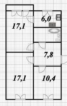 Продажа 3-х комнатной квартиры в Вырице - Фото 5