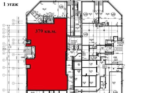 Трехуровневое псн в новом ЖК на первой линии у м.Гагаринская 633 кв.м. - Фото 2