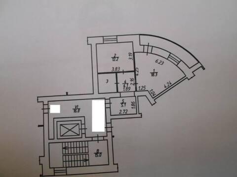 Продажа однокомнатной квартиры на Тульской улице, 32 в Калуге, Купить квартиру в Калуге по недорогой цене, ID объекта - 319812799 - Фото 1