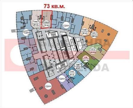 Сдам офисное помещение 73 кв.м. в Башне Федерации Восток ММДЦ, Моск. - Фото 2
