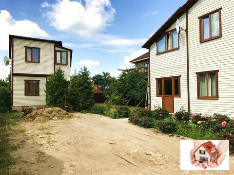 Продам 2 дома по 120кв.м. на 6 сот. Каширское шоссе 3 км от МКАД - Фото 1