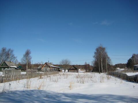 Отличный земельный участок 15 соток на берегу реки Шуя, Карелия - Фото 1