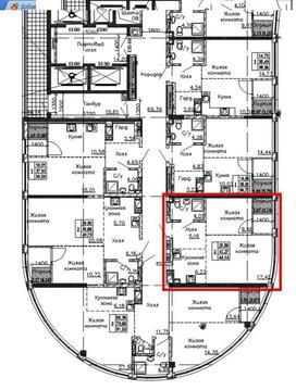1к квартира с видом на Дон - Фото 3