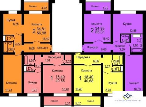 Продам двухкомнатную квартиру Мусы Джалиля 4 стр, 60кв.м.цена 2280 т.р - Фото 2