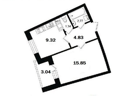Продажа квартиры, Мурино, Всеволожский район, Ул. Оборонная - Фото 3