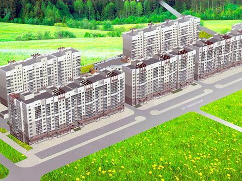 Продажа двухкомнатная квартира 55.17м2 в ЖК Кольцовский дворик дом 1. . - Фото 3