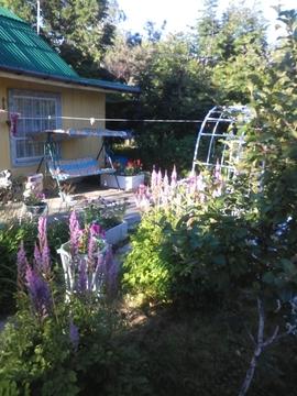 Садовый участок с дачей в элитном районе - Фото 2
