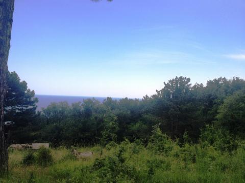 10+10+10 соток в Алупке с панорамным видом, рядом хвойный лес - Фото 1