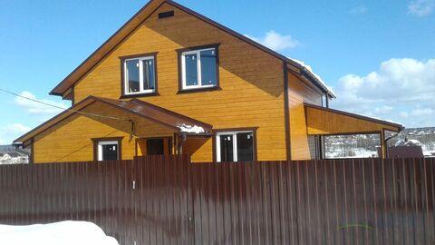 Современный зимний дом 140 кв.м. Магистральный газ в доме. 14 соток. - Фото 1