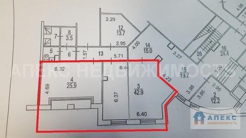 Аренда офиса 70 м2 м. Каховская в жилом доме в Зюзино - Фото 3