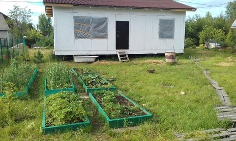 Продаем земельный участок с недостроенным садовым домом - Фото 1