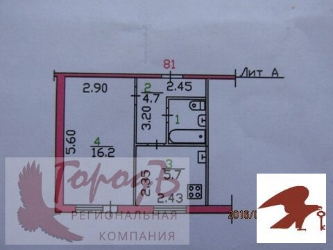 Квартира, ул. Генерала Жадова, д.23 - Фото 1