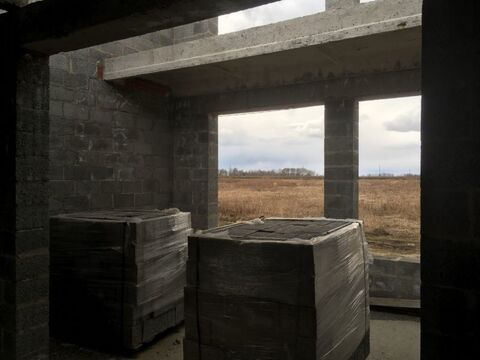 С. Петелино новый не достроенный дом 130 м2 - Фото 5