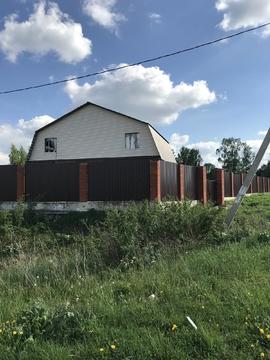 Продается дом 180 кв.м, 15 соток в д. Базарово, Каширского р-на - Фото 1