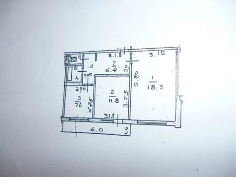 Продается 2-комнатная квартира в панельном доме на Индустриальной - Фото 1