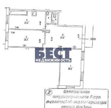 Продажа офиса, Новокузнецкая, 135 кв.м, класс B+. Офис под. 135 кв.м . - Фото 3