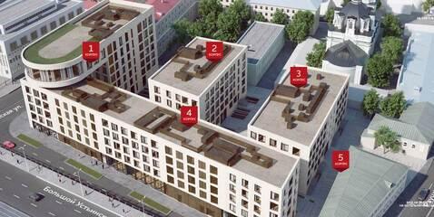 Квартал Клубных Особняков Balchug Residence. Элитные апартаменты 133,0 . - Фото 4