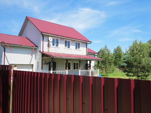 Большой дом 250 кв.м, 12 соток у леса, р-н Дорохово, 75 км МКАД. - Фото 1