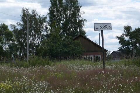 Участок на берегу реки Пра в д.Взвоз, Клепиковского района. - Фото 1