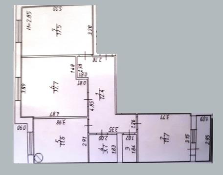 Продаю 3х-комнатную квартиру 80кв.м.в 204 квартале - Фото 2