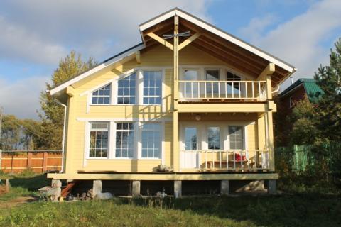 Новый дом, баня, 31 сотка реально на первой линии реки Волга - Фото 3