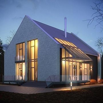Кирпичный дом по оригинальному проекту в кп Стольный. 30 км Калужское - Фото 3