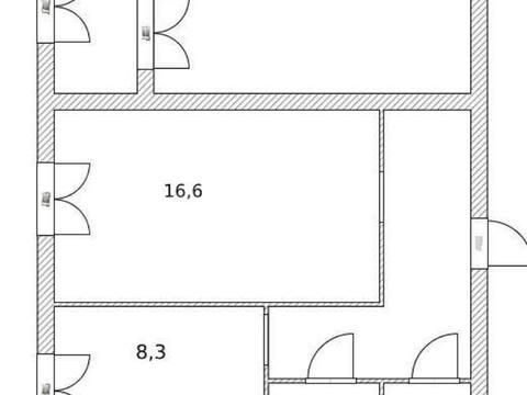 2 050 000 Руб., Продажа двухкомнатной квартиры на улице Артема, 43 в Стерлитамаке, Купить квартиру в Стерлитамаке по недорогой цене, ID объекта - 320177987 - Фото 1