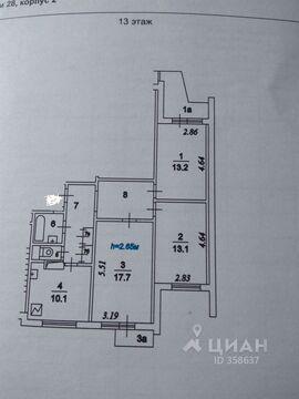 Продажа комнаты, Ул. Домодедовская - Фото 1