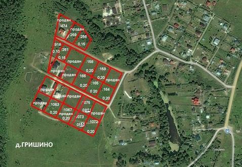 Продаётся участок 14соток в д. Гришино Чеховского района - Фото 4