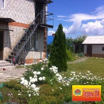 Двухэтажная кирпичная дача на Волге в районе села Подгорное - Фото 1