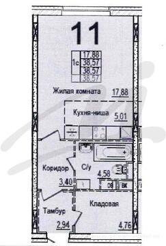 Продается квартира, Нахабино рп, 38м2 - Фото 4