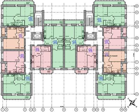 2-комнатная квартира в доме с индивидуальным газовым отоплением - Фото 4