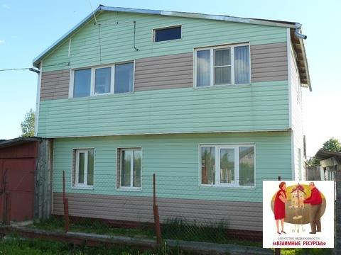 Продаётся дом с коммуникациями в п. Заречный Новгородского р-на - Фото 1