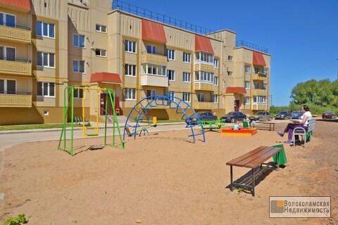 Просторная квартира с автономным отопление в новом доме в Волоколамске - Фото 1