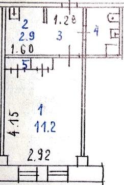 Мини-квартира 20 м 2 с мебелью и техникой в Солнечном на проспекте - Фото 3