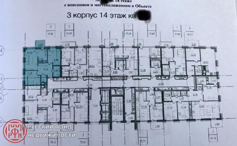 Продам 2к. квартиру. Комендантский пр, д.58 к.1 - Фото 3
