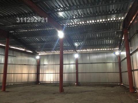 Под склад, ангар из металлоконструкций, холод, выс. потолка: 5,5 м, о - Фото 1