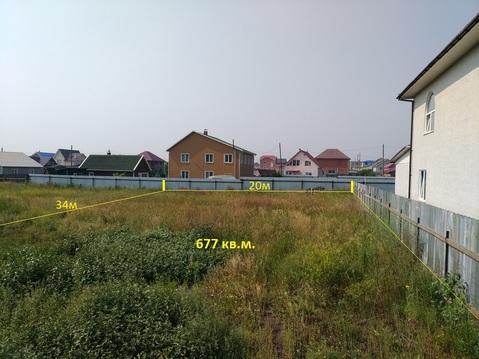 Участок в п.Солонцы, мкр.Чистые пруды - Фото 1