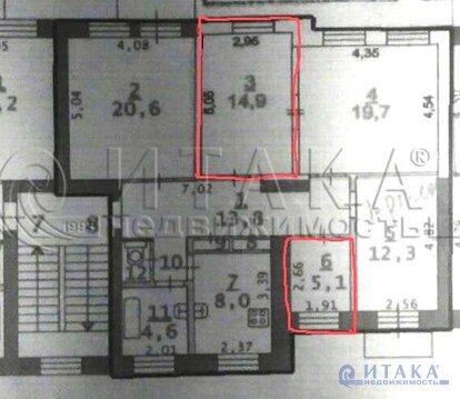 Продажа комнаты, Сертолово, Всеволожский район - Фото 3