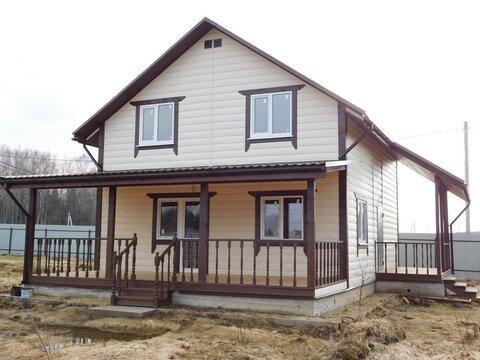 Дача дом в Боровском районе Калужской области возле леса - Фото 1