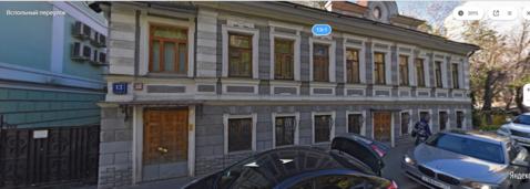 Продается осз. , Москва г, Вспольный переулок - Фото 1
