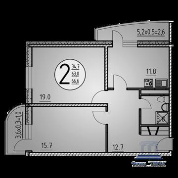 Объявление №50309925: Квартира 2 комн. Ростов-на-Дону, ул. Нансена, 130 к1,