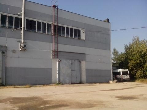 Продается 0,6 га асфальтированный участок и два здания 1555 кв.м - Фото 1