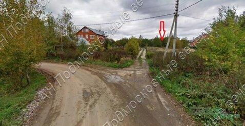 Калужское ш. 5 км от МКАД, Николо-Хованское, Участок 9 сот. - Фото 1