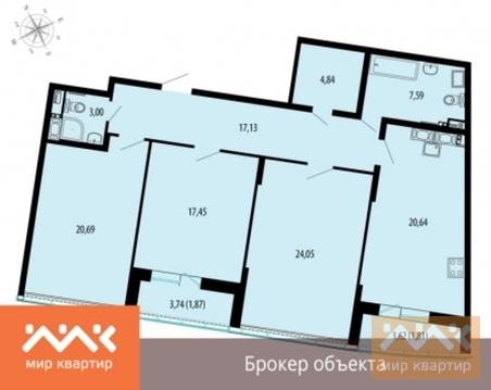Продается 3к.кв, Жукова ул. - Фото 1