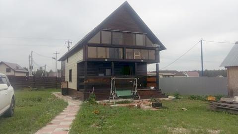 Дом, Мажайское шоссе, д. Захарьино-3 - Фото 1