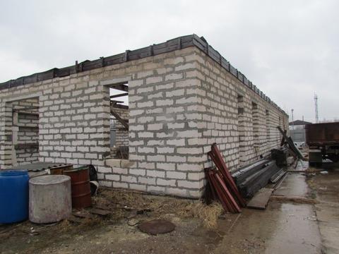 Производственное помещение (недострой) на участке пром.назначения 25 с - Фото 2