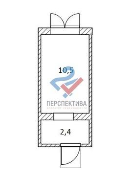 Комната 12,9 м2 по ул. Шафиева, 46/1. - Фото 3