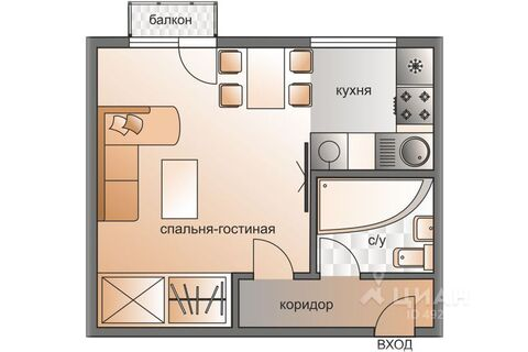 Аренда квартиры посуточно, м. Киевская, Бережковская наб. - Фото 2