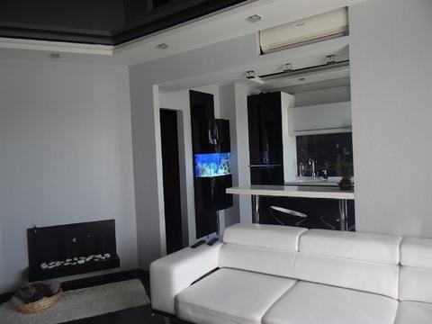 Дорогая стильная квартира-студия с дизайнерским ремонтом. джакузи 600л - Фото 4